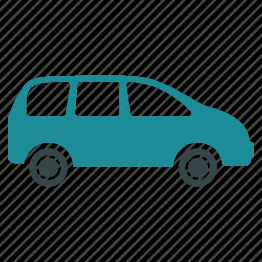 bus, car, minivan, transport, transportation, truck, van icon