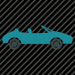 auto, automobile, cabriolet, car, speed, sport, vehicle icon