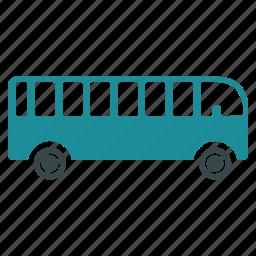 bus, tourist, transfer, transport, transportation, trip, vehicle icon