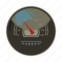 car, cartoon, fast, meter, power, speed, speedometer icon