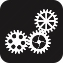 auto, automobile, car, garage, gear, servicing, vehicle icon