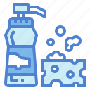 liquid, soap, cleaner, bottle