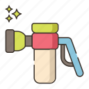 cleaning, nozzle, spray icon
