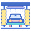 automated, car, wash