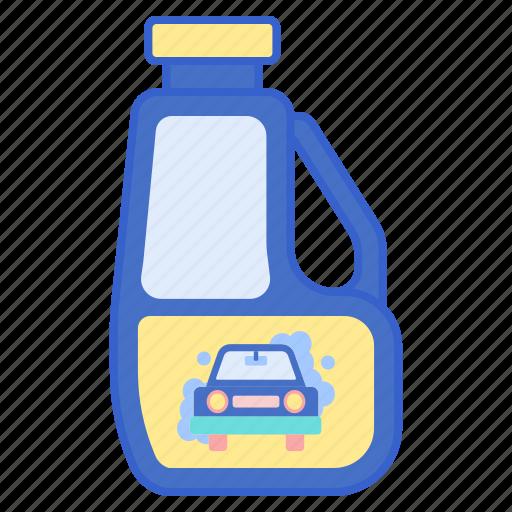car, soap, wash icon