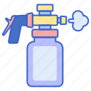 cannon, foam, gun icon
