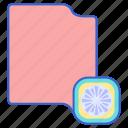 cloth, microfiber, rag icon