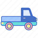pickup, truck, vehicle icon