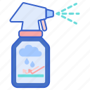 rain, repellent, spray icon
