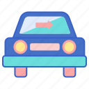 car, tinting, window icon