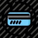 card, change, credit, debit, issue, reissue icon