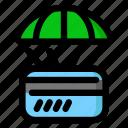card, credit, debit, delivery icon