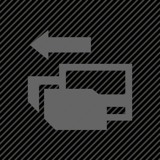 arrow, card icon