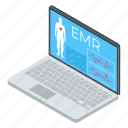 e health, laboratory website, medical app, online laboratory, science app, emr, smart lab icon