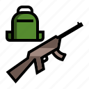 military, serviceman, soldier icon