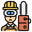 career, carpenter, sawing, technician, wood