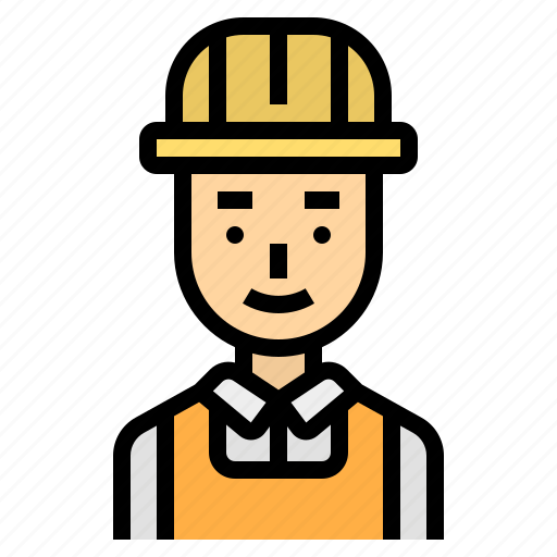 career, construction, engineer, man, structure icon