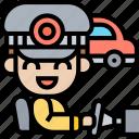 driver, taxi, service, transport, car