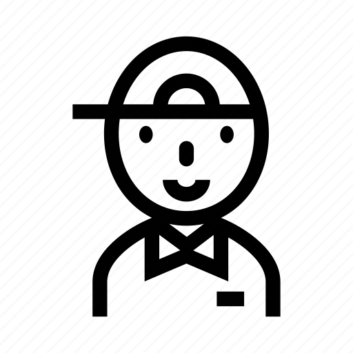 boy, career, courier, delivery, delivery boy, delivery man, messenger icon