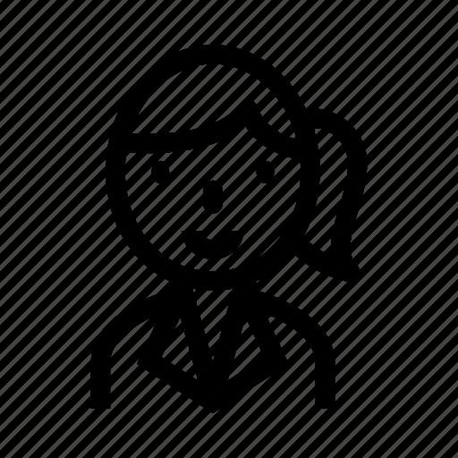 avatar, business women, marketing, office women, secretary icon