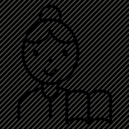 avatar, career, school, teach, teacher icon
