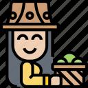 farmer, agriculture, harvest, farming, worker