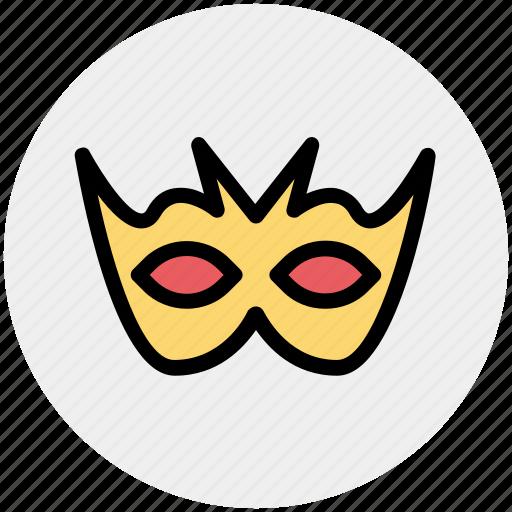 Carnival mask, celebrations, circus mask, eye mask, festival mask, mask icon - Download on Iconfinder