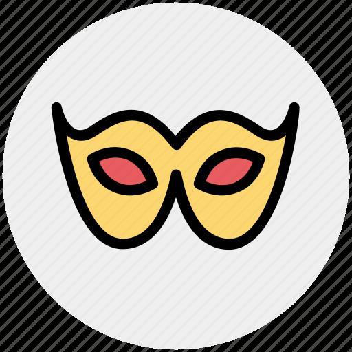 Carnival mask, celebrations, circus mask, eye mask, festivity, mask icon - Download on Iconfinder