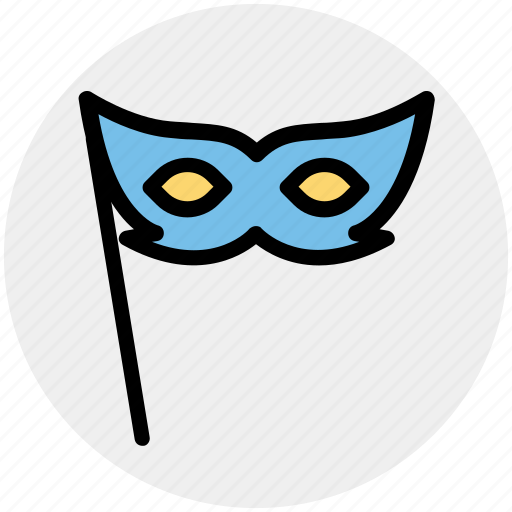 Carnival mask, celebrations, circus mask, eye mask, festival mask, festivity icon - Download on Iconfinder