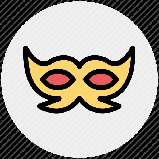 Carnival mask, celebrations, circus mask, festival mask, festivity, mask icon - Download on Iconfinder