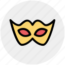 celebrations, eye mask, festival mask, festivity, male mask, mask icon