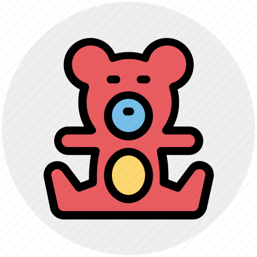 Bear, teddy, teddy bear, toy, toy teddy, toy teddy bear icon - Download on Iconfinder