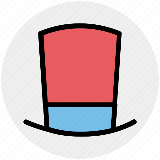 hat, magic top hat, magician hat, magician top hat, top hat icon