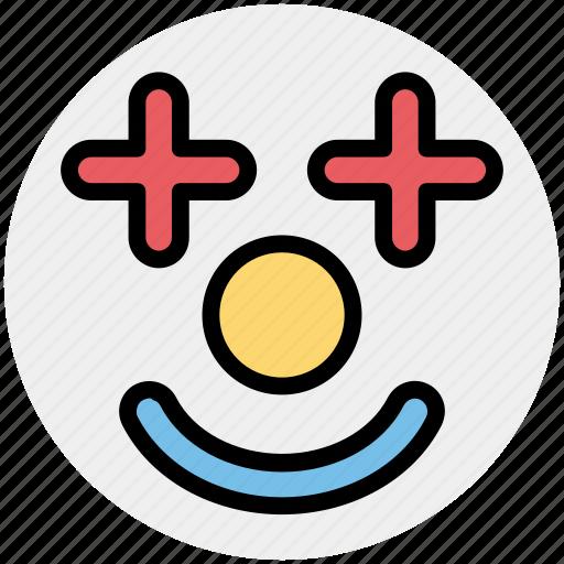 Clown, comedian, face, jester, joker, jokester icon - Download on Iconfinder