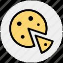 food, italian dish, italian food, pizza, pizza slice icon