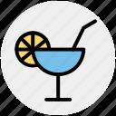 beverage, cocktail, lemonade, soda, soft drink icon