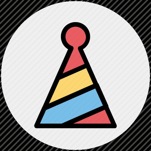 Birthday cap, cap, character cap, fun, joker cap icon - Download on Iconfinder
