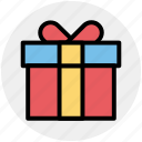 birthday gift, celebration, gift, gift box, party, present icon