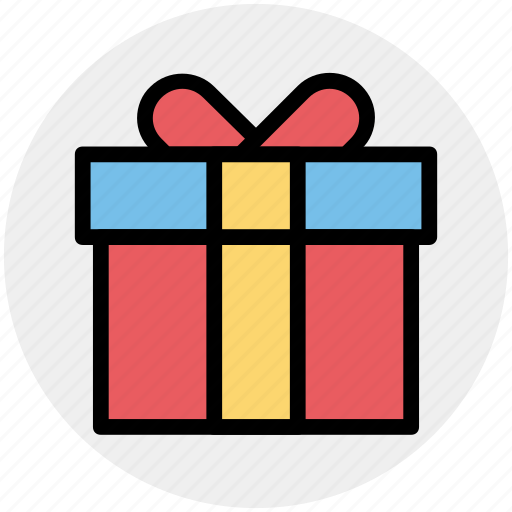 Birthday gift, celebration, gift, gift box, party, present icon - Download on Iconfinder