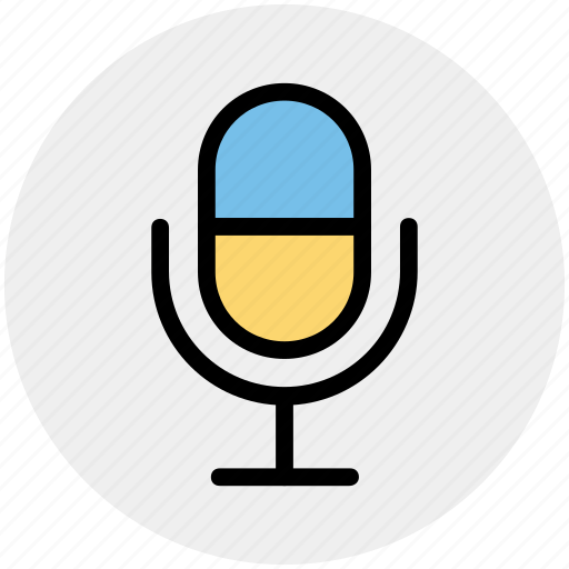 Mic, microphone, old, recording mic, sound, volume icon - Download on Iconfinder