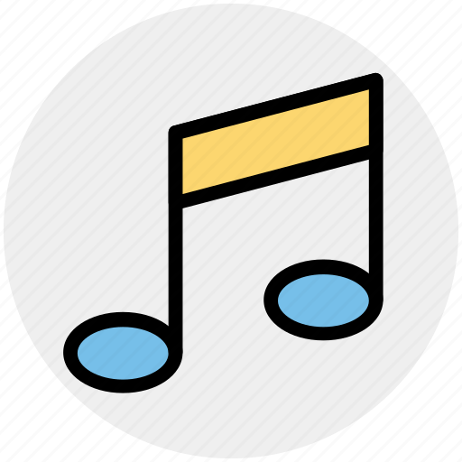 Double bar note, music note, music sign, musical note, musical sign icon - Download on Iconfinder