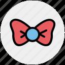 bow necktie, bow tie, knot, necktie, tie icon