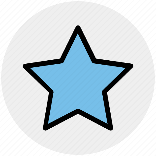 Favorite, five pointed, like, sign, star, star shape icon - Download on Iconfinder
