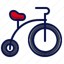 amusement, bicycle, carnival, circus, monocycle, parade, unicycle icon