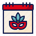amusement, calendar, carnival, circus, date, event, parade icon