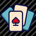 amusement, carnival, circus, gambling, game, parade, playing card icon