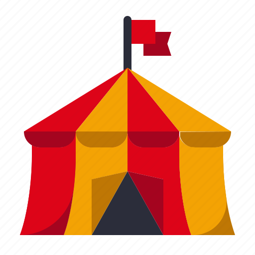 Amusement, carnival, circus, circus tent, fairground, parade, show icon - Download on Iconfinder