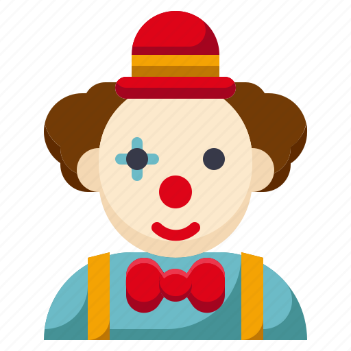 amusement, carnival, circus, clown, funny, joker, parade icon