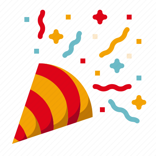 Amusement, carnival, circus, confetti, parade, party, popper icon - Download on Iconfinder