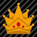 amusement, carnival, circus, crown, festival, king, parade icon
